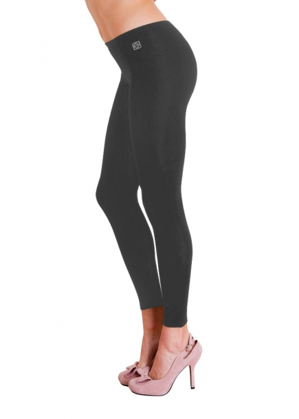 Gråa leggings - Donna leggings Cotonella